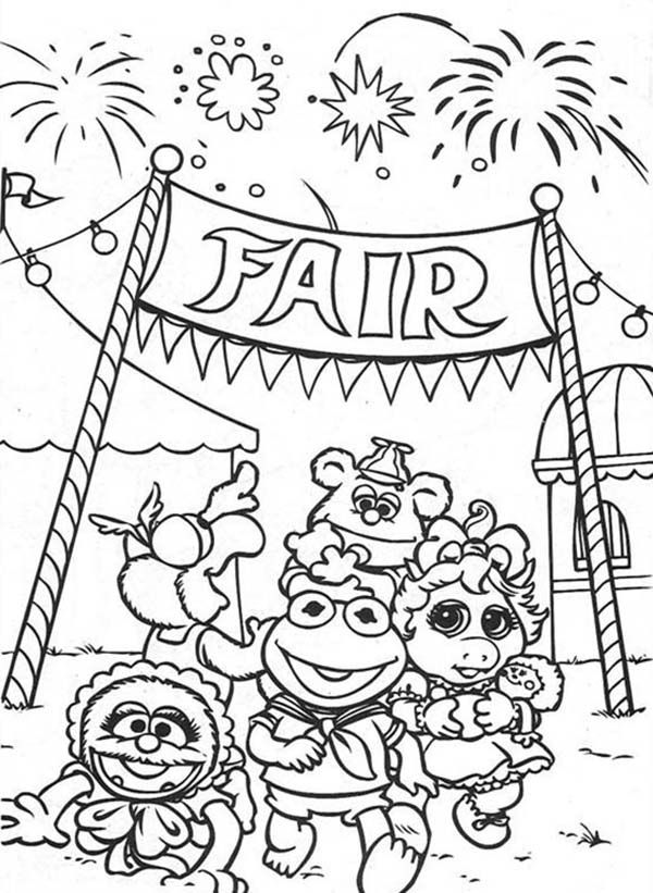 Coloring Pages Of The Fair - Coloring Home
