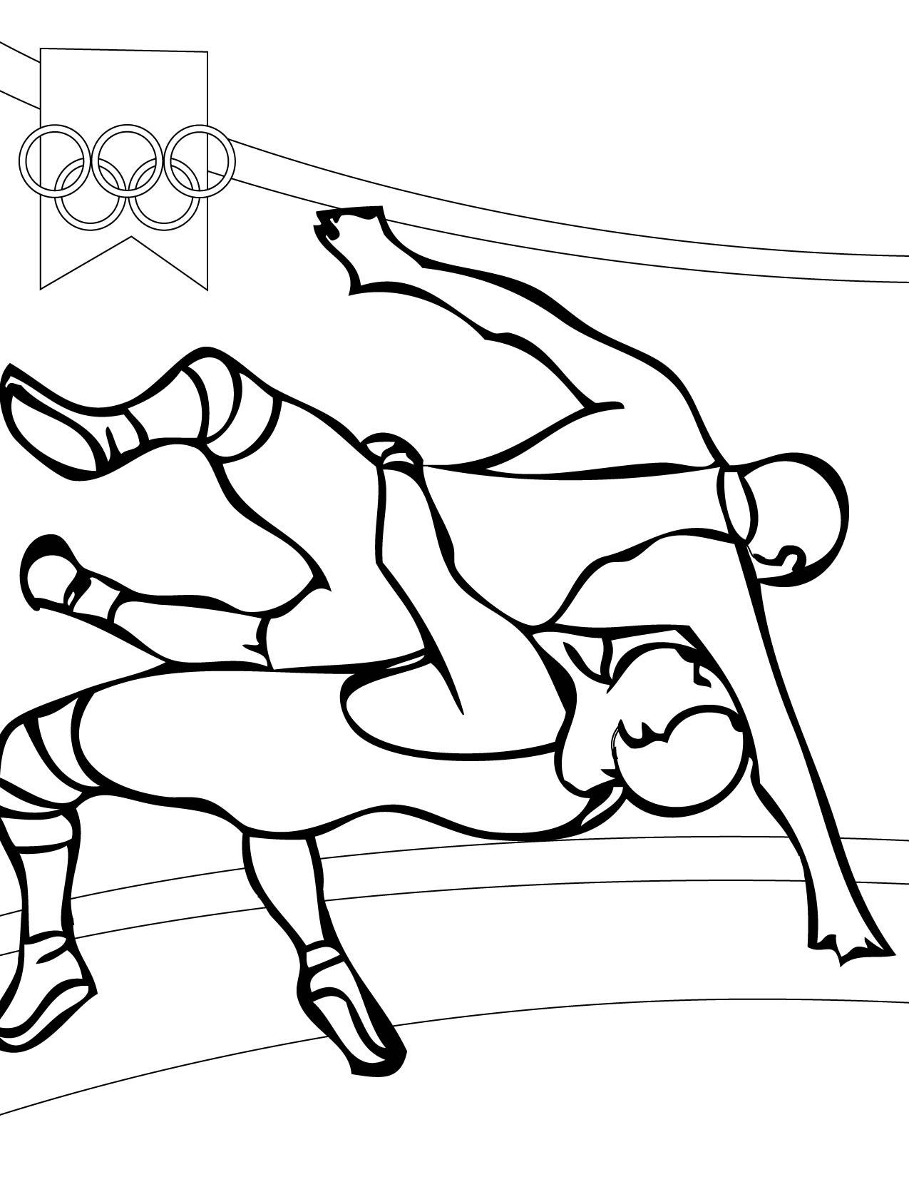Coloring Pages Wrestling Color Pages wrestling color pages eassume com wrestler coloring eassume