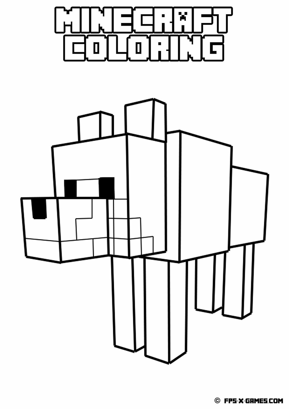 Free coloring pages roblox - 29 Unique Free Minecraft Coloring Pages Gianfreda Net