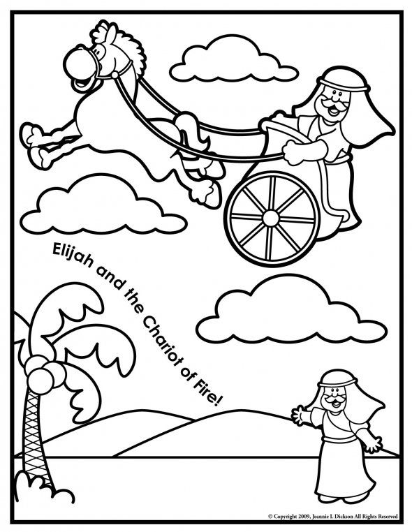 elisha coloring pages for kids - photo#14