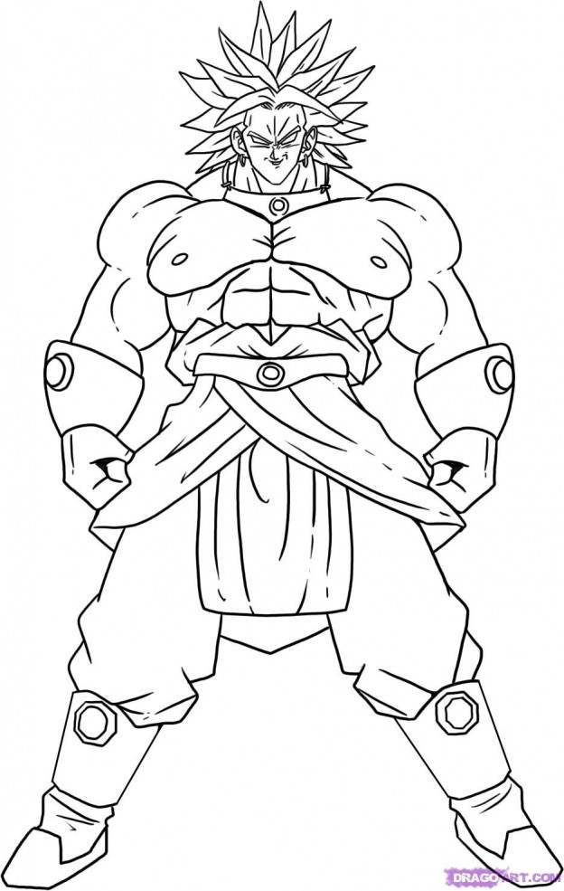 Dragon Ball Z Coloring Pages On
