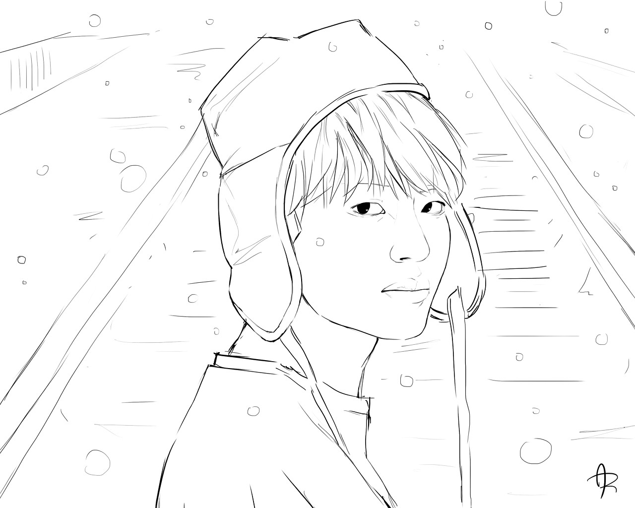 Bangtan Boys Coloring Pages Coloring Home