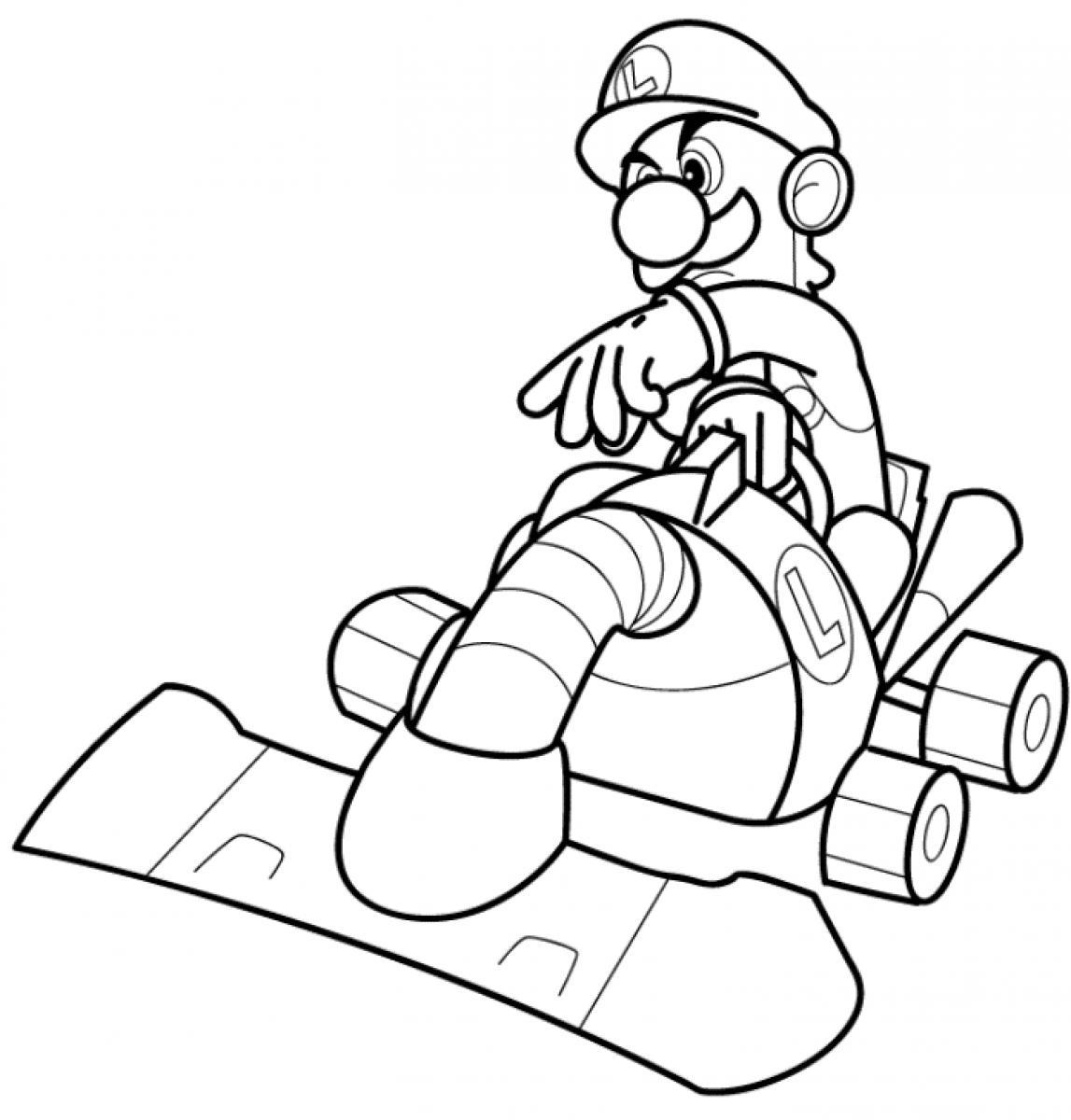Tremendous Luigi Coloring Pages Image Inspirations Baby Mario And Nintendo  Mansion Super – Approachingtheelephant