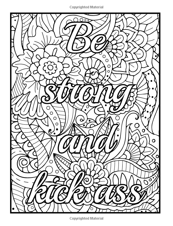 Free Online Coloring Pages For Adults Swear Words Www.robertdee.org