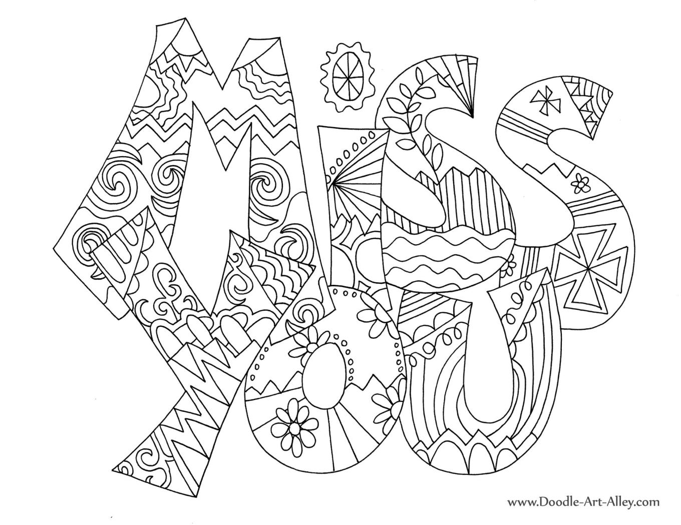 Doodle Art Alley All Quotes Coloring Pages Coloring Home Doodle Alley Coloring Pages