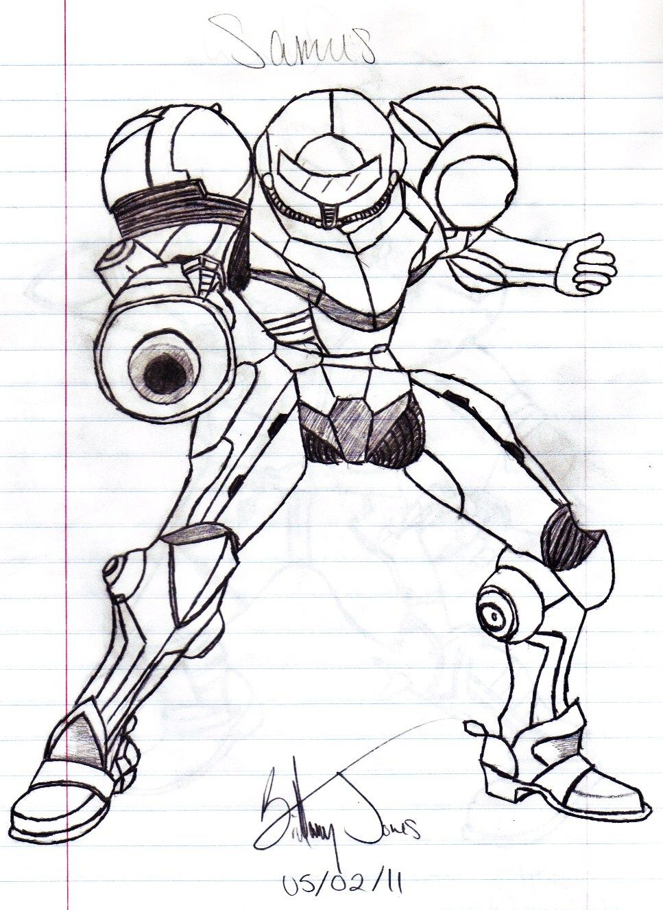 Samus Super Smash Bros Coloring Pages - Coloring Home