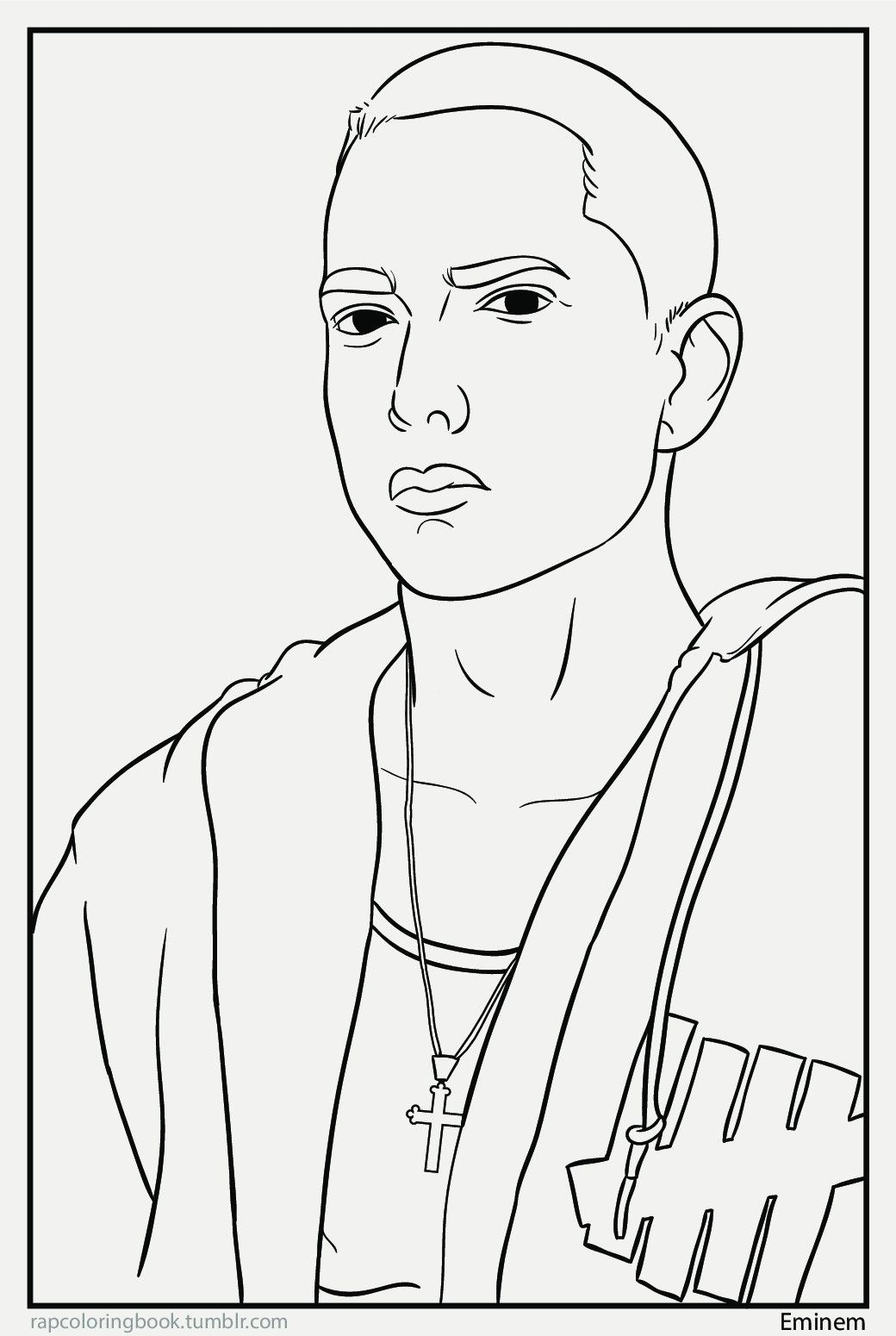 Hip hop coloring pages coloring home for Rapper coloring pages