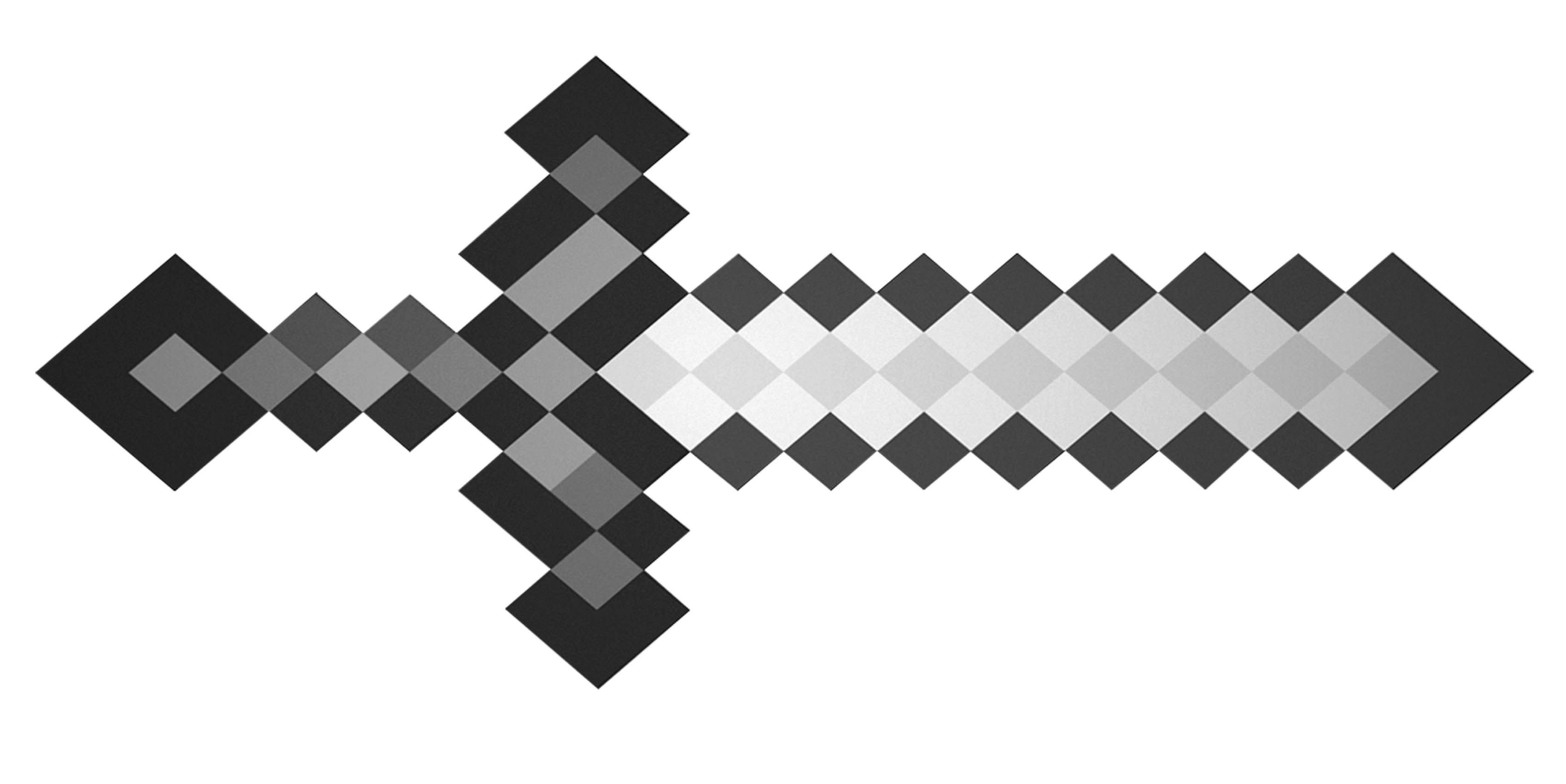 Minecraft Coloring Pages Diamond Sword - High Quality Coloring Pages