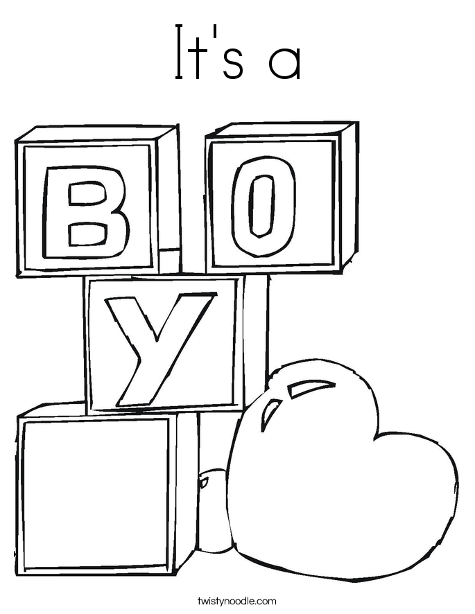 Baby Shower Coloring Page Coloring