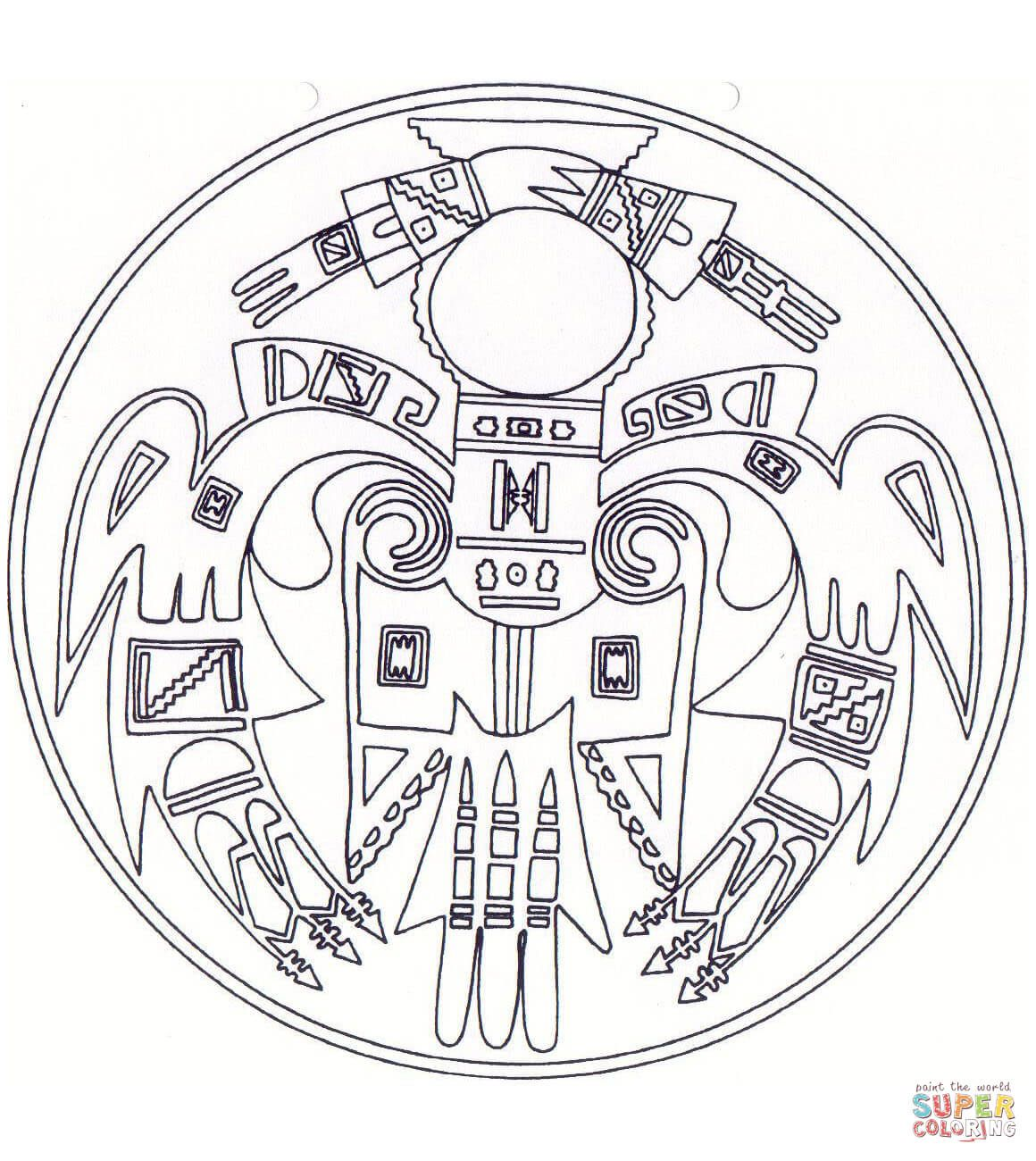 native american indian chief coloring pages. native american ...