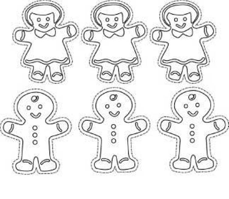Coloring Pages Of Gingerbread Man Story