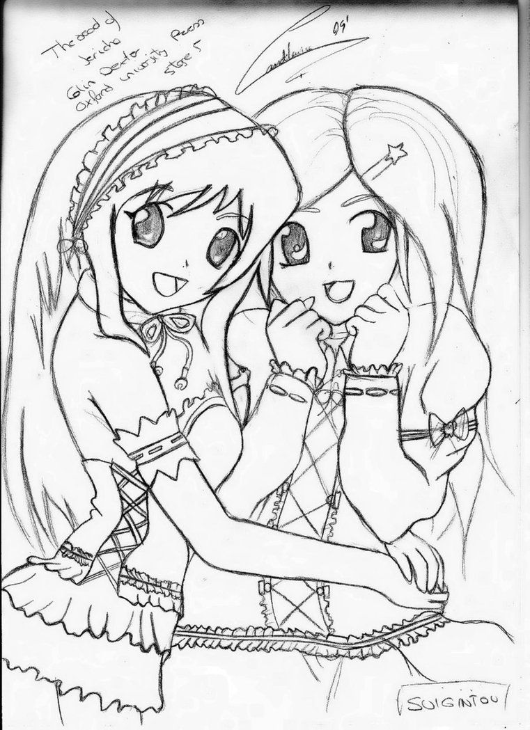 Free Printable Best Friends Coloring Pages - Coloring - Coloring Home
