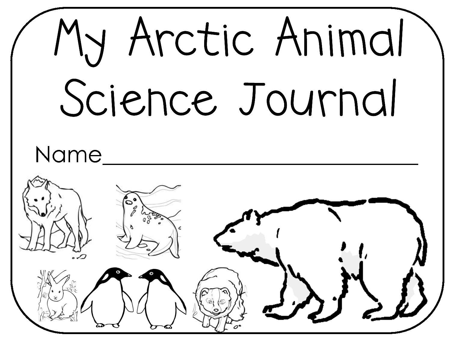 Arctic Coloring Pages  Coloring Home