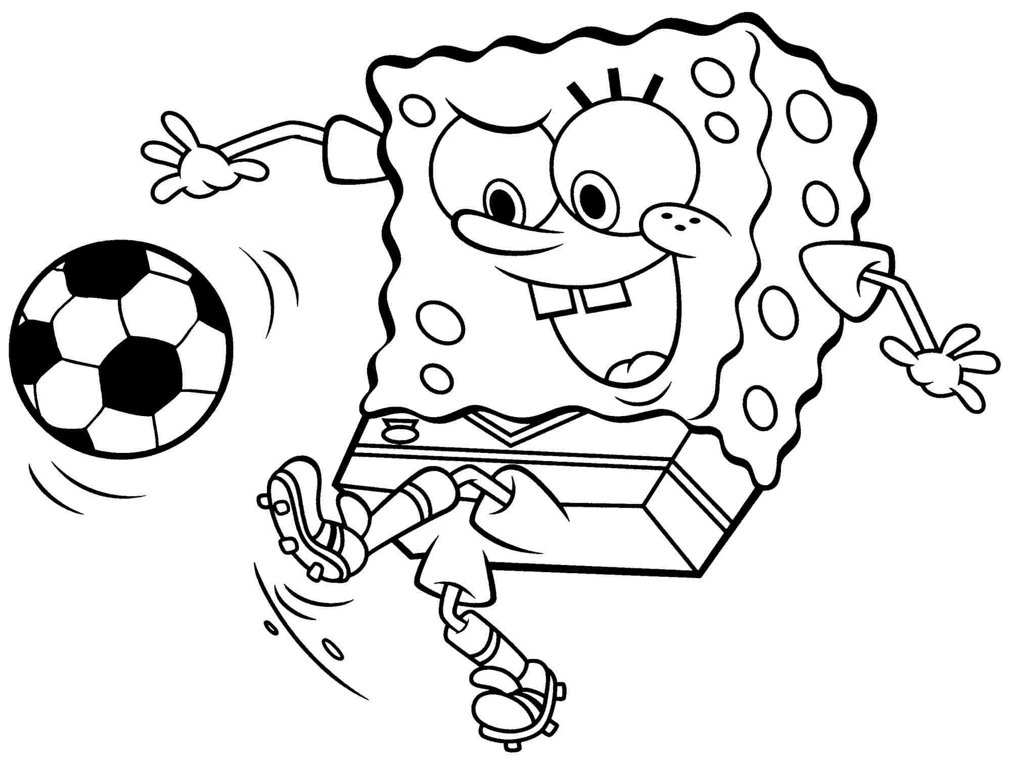 Bob Sponge Coloring Pages - Coloring Home