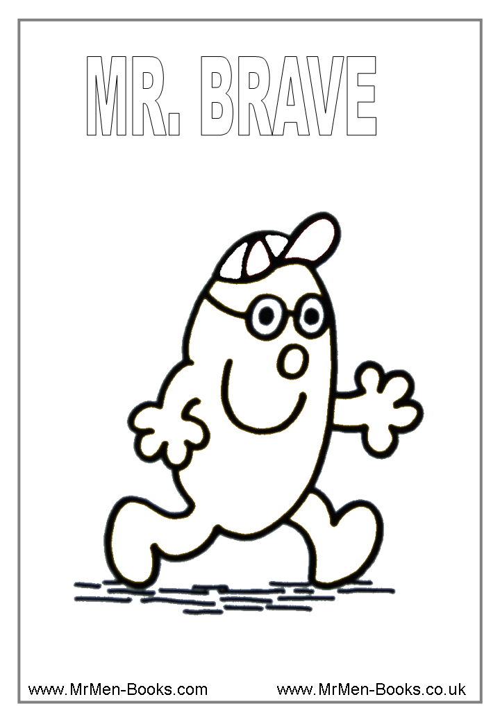 mr men and little miss coloring pages 374 free printable
