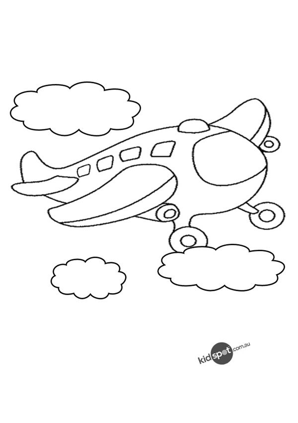 Aeroplanes Coloring Pages Coloring