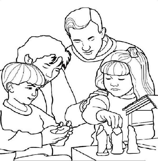 Printable Coloring Pages For All Saints Day : All Saints Day Coloring Pages Coloring Home