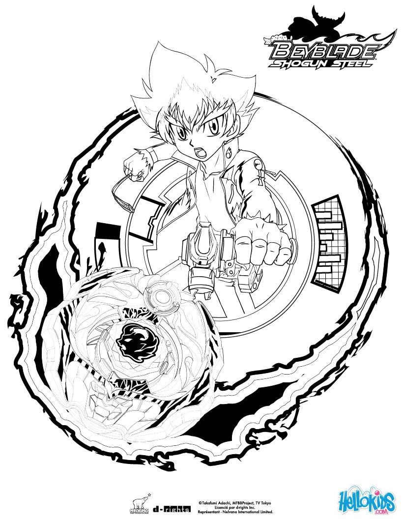 BEYBLADE coloring pages : 26 printables of your favorite TV characters