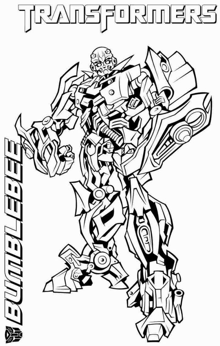 Bumblebee Coloring Pages Transformers in 2020 | Bee coloring pages,  Transformers coloring pages, Cartoon coloring pages