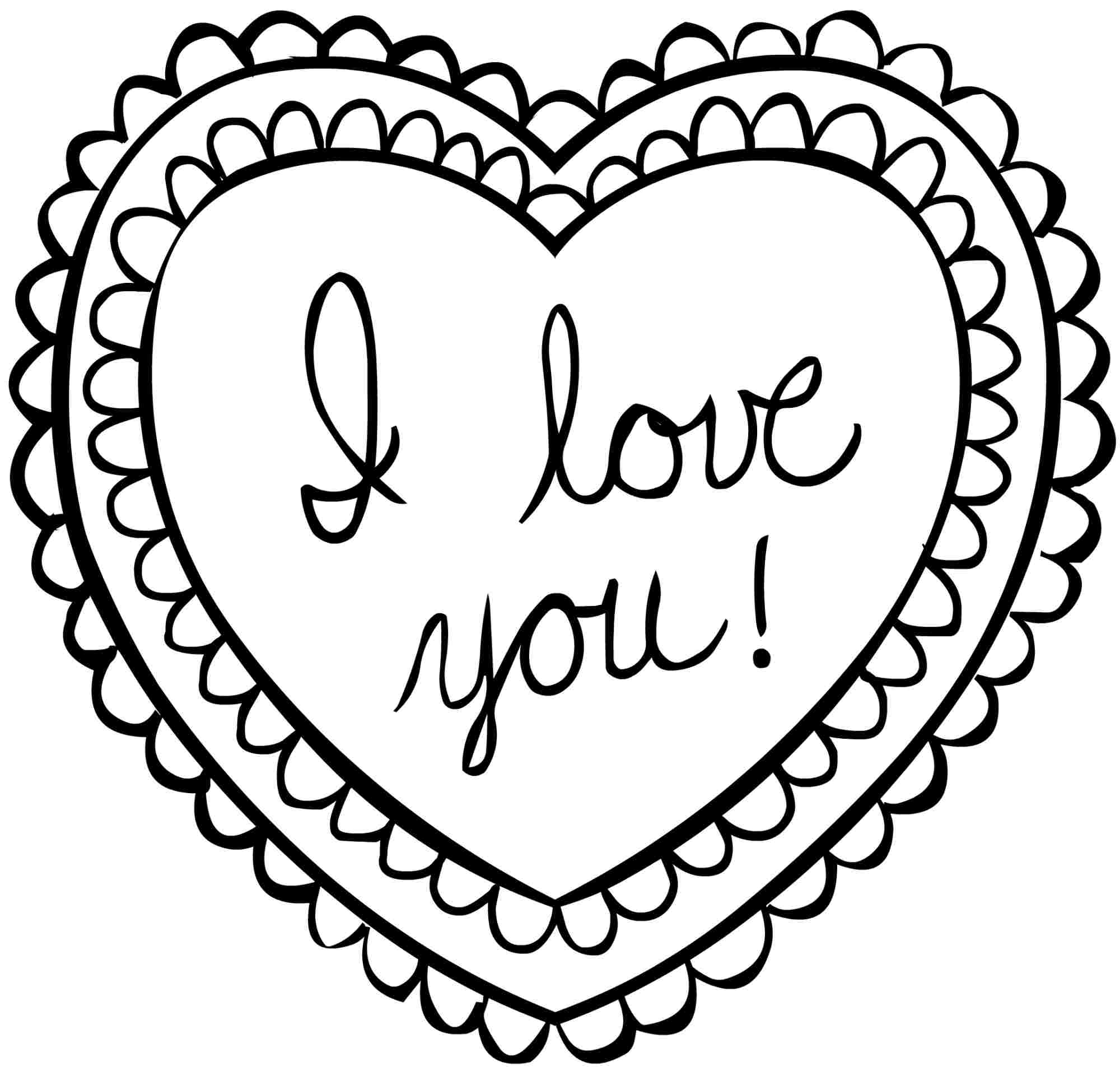 printable valentines day cards coloring pages coloring
