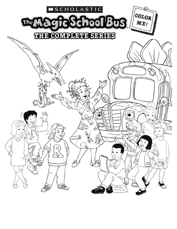 - Magic School Bus Coloring Page - Coloring Home