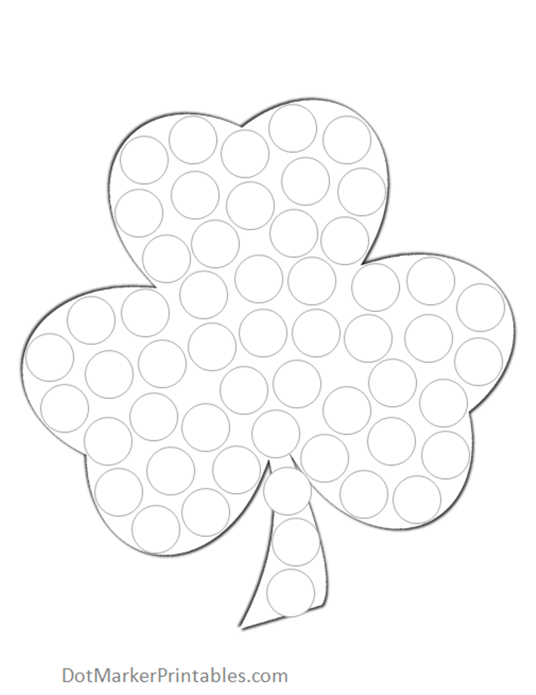 Do A Dot Art Coloring Pages Coloring