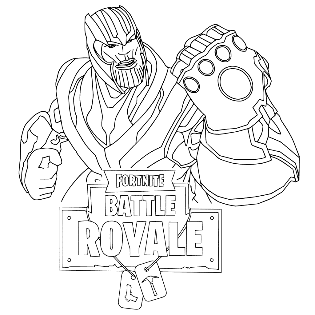Thanos Coloring Pages - Best Coloring Pages For Kids