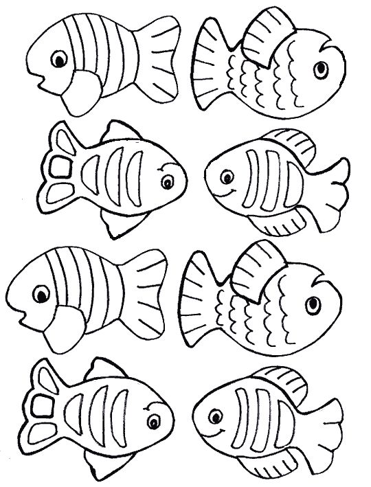 1000+ Ideas About Fish Template | Scrapbook Com ... - Coloring Home