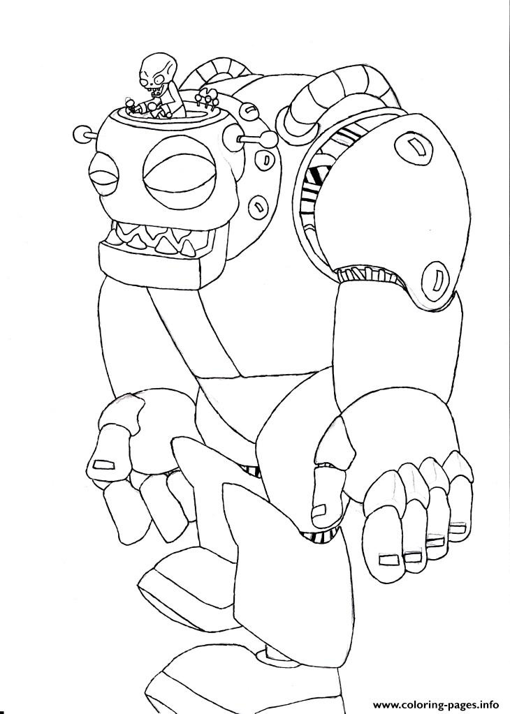 Plants Vs Zombies Zombie Coloring Pages