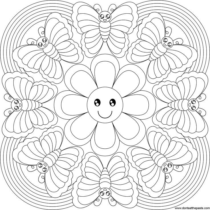 mandala coloring pages printable free free coloring pages