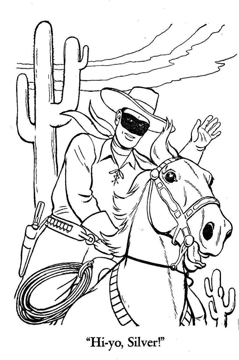 Disney lone ranger coloring pages - The Lone Ranger Fan Club Lr Fun Stuff