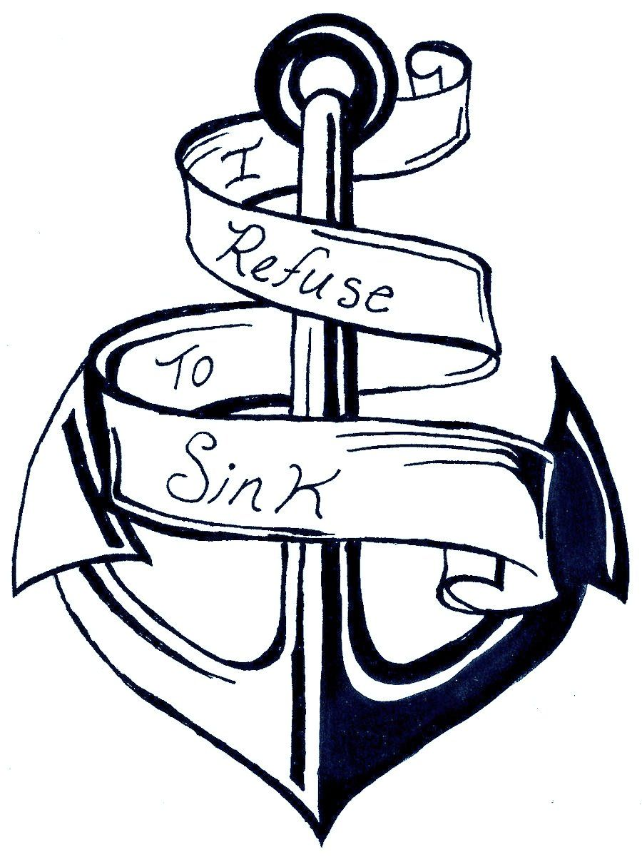 printable anchor coloring pages - photo#23