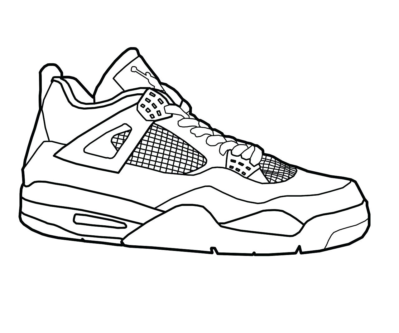 Coloring Pages Shoe Page Sneaker Shoes Pete The Cat Sheets Sheet Nike For  Kids Printable Jordan – Approachingtheelephant