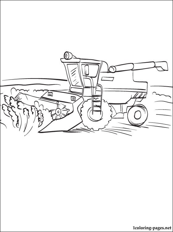 Combine Coloring Page
