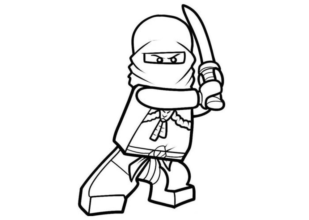 Lego Character Coloring Pages Coloring Home