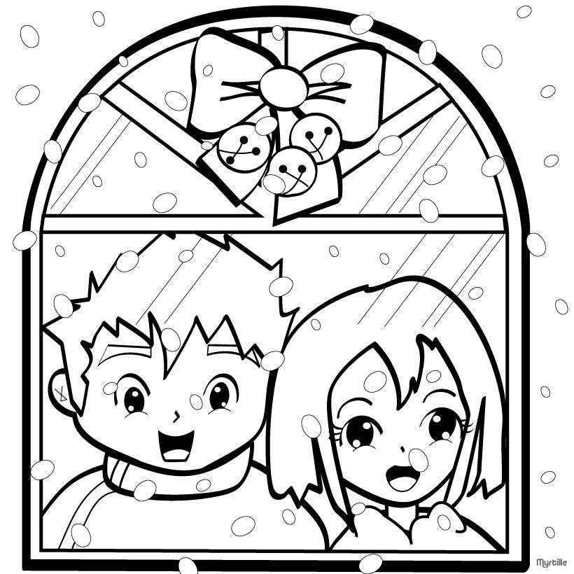 Window Coloring Pages - Coloring Home