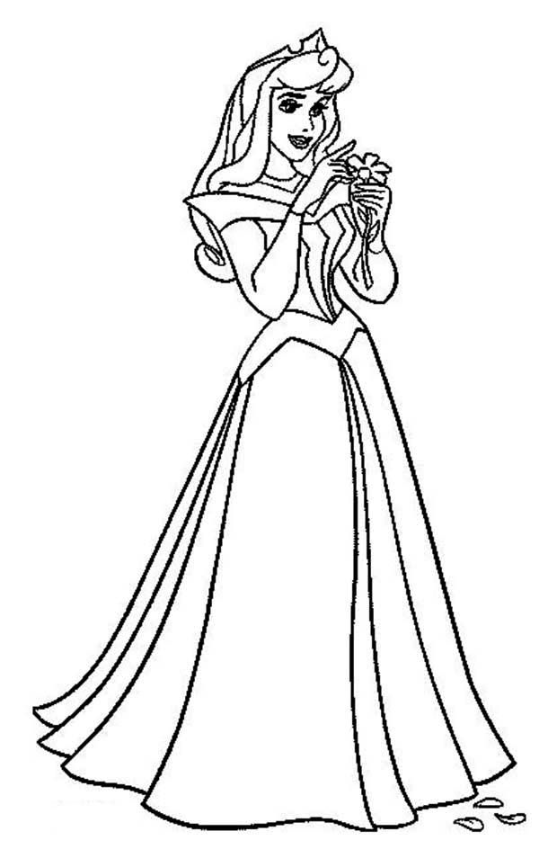 Printable Coloring Pages Of Aurora