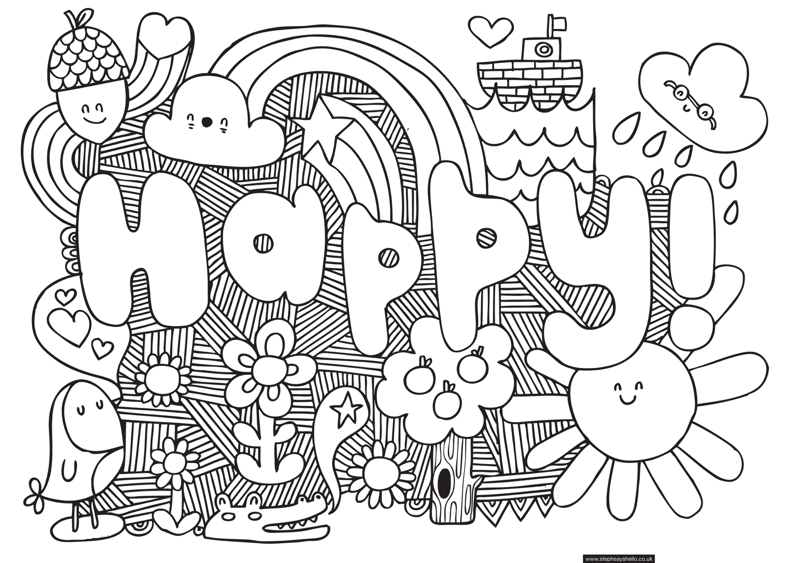 - Cool For Older Kids - Coloring Pages For Kids And For Adults