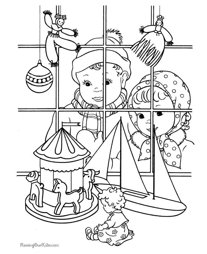 Free Printable Vintage Christmas Coloring Pages Coloring Printable Vintage Coloring Pages