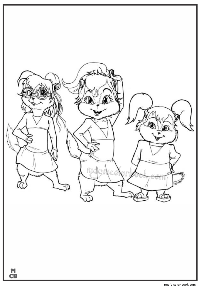 Chipmunk Coloring Pages To Print - Coloring Home