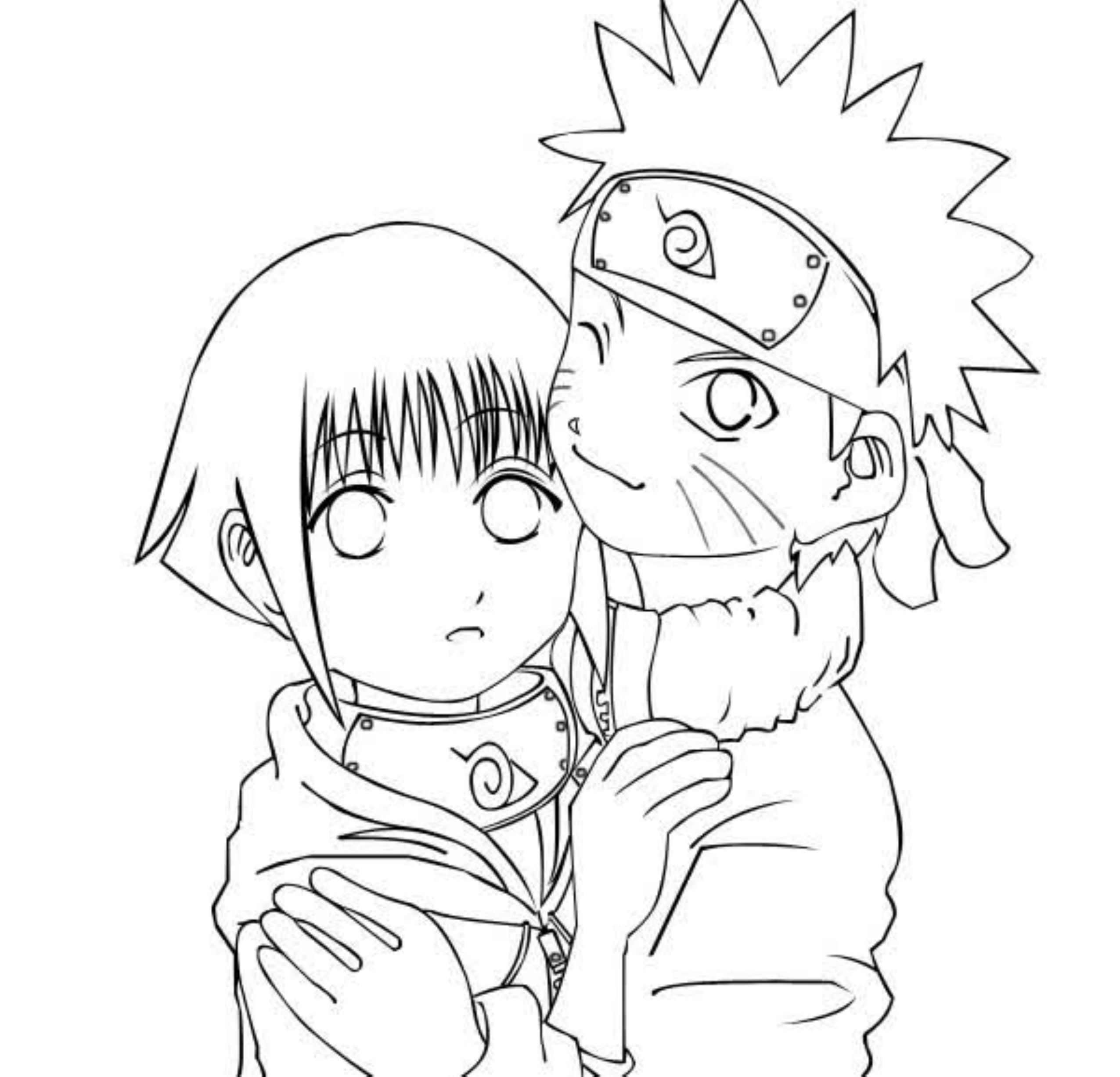coloring pages of naruto - photo#33