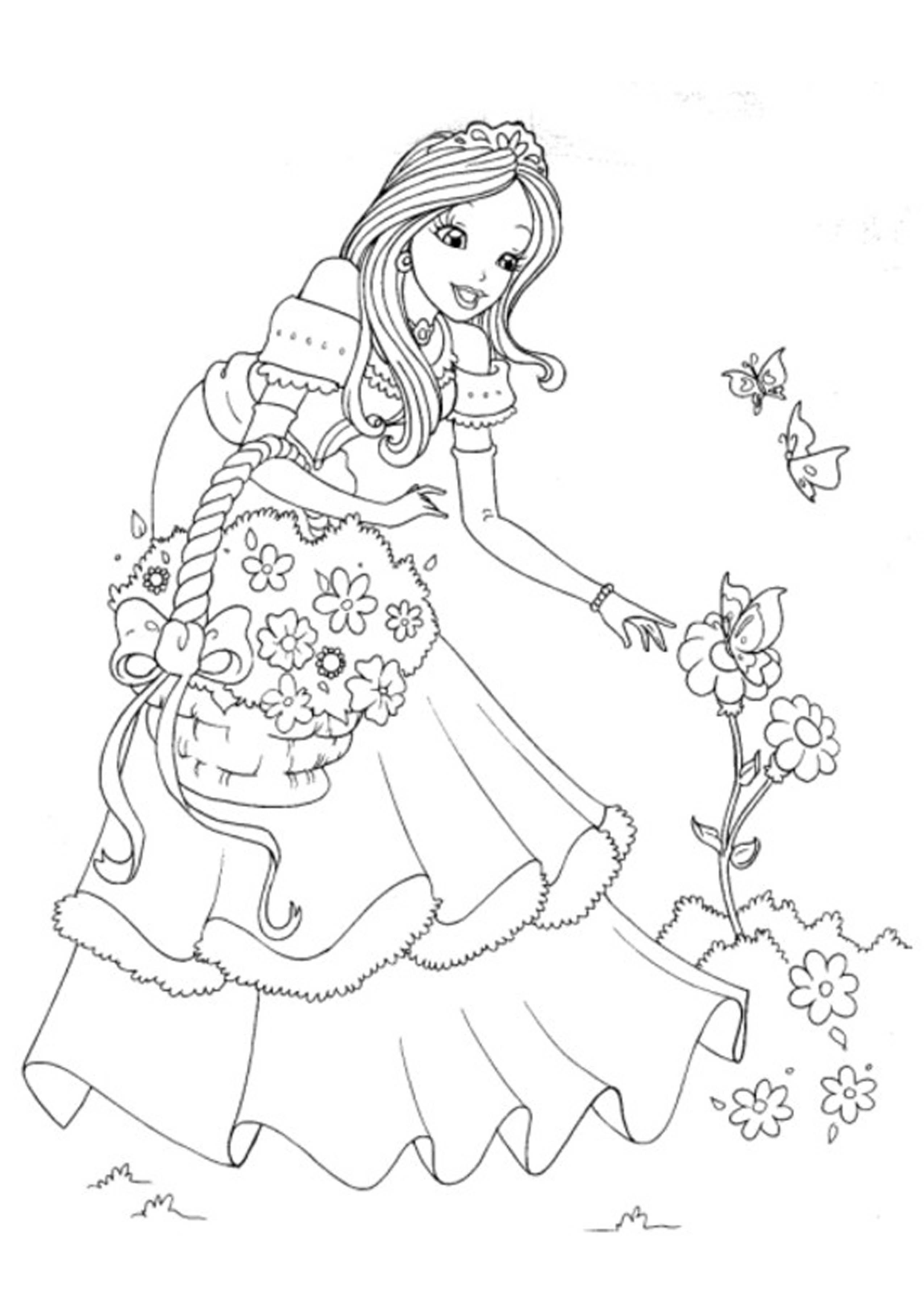 Disney princess coloring pages to print - Disney Princess Coloring Pages Printable Printable Kids