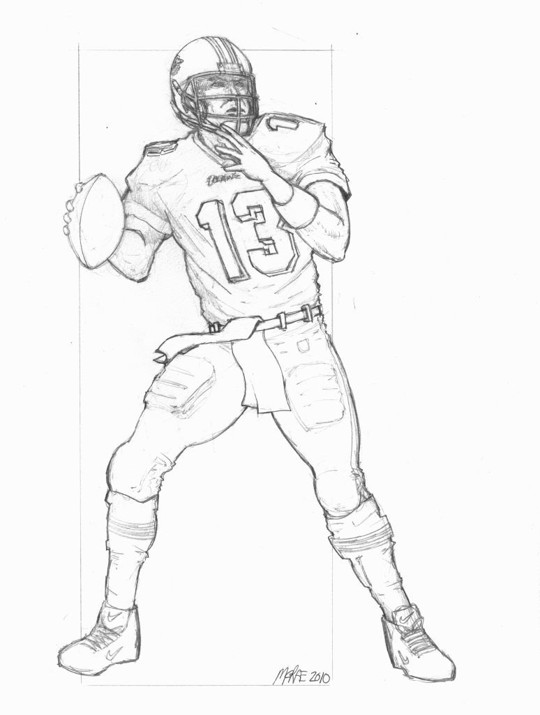 Eli Manninig Player Coloring Pages