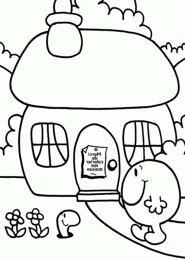 home sweet home in mr men and little miss coloring pages bulk color