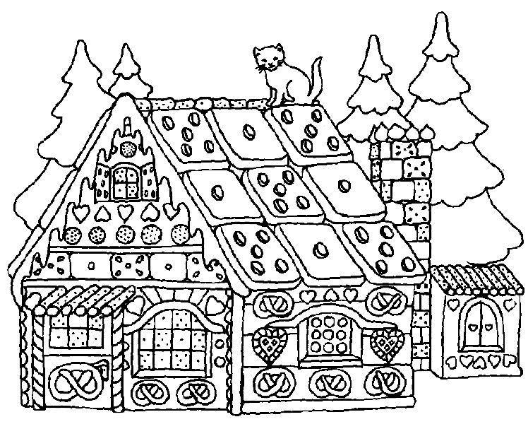christmas coloring pages for adults to print free - coloring home - Detailed Christmas Coloring Pages