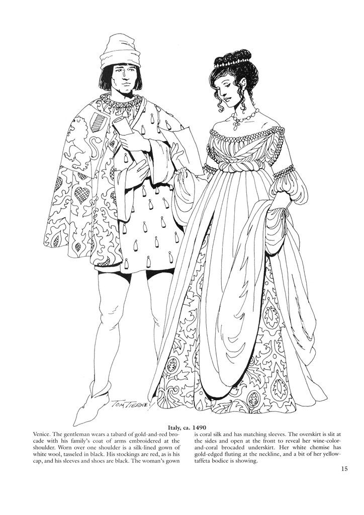 coloring pages for the renaissance - photo#6