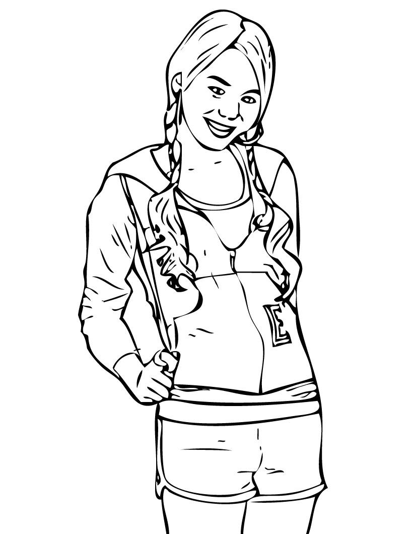 Disney Channel Characters Coloring Pages