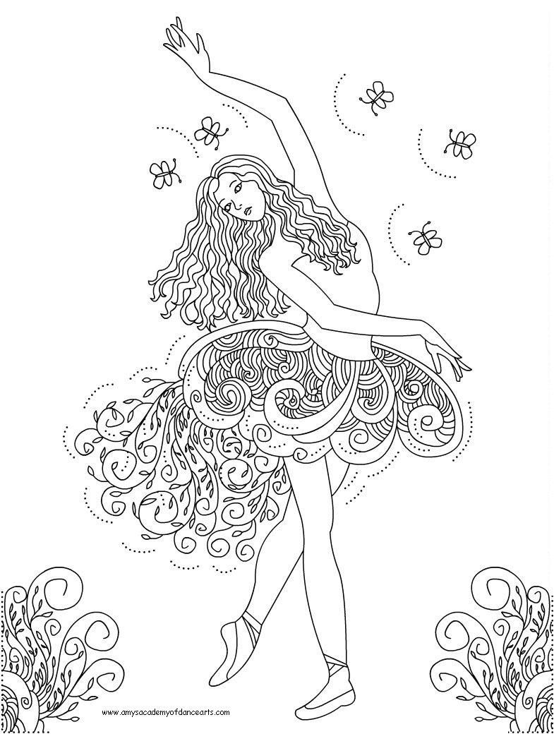- Jazz Dance Coloring Pages - Coloring Home