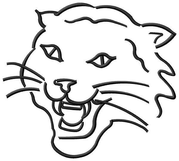 coloring pages wildcats - photo#6