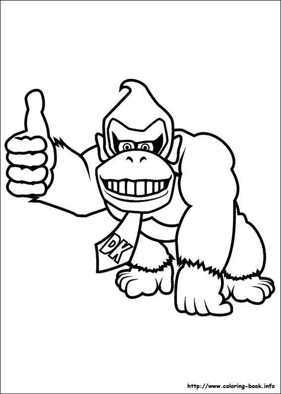 Super Mario Bros Coloring Pages On Coloring Book